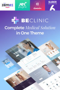 BeClinic - Multipurpose Medical WordPress Theme